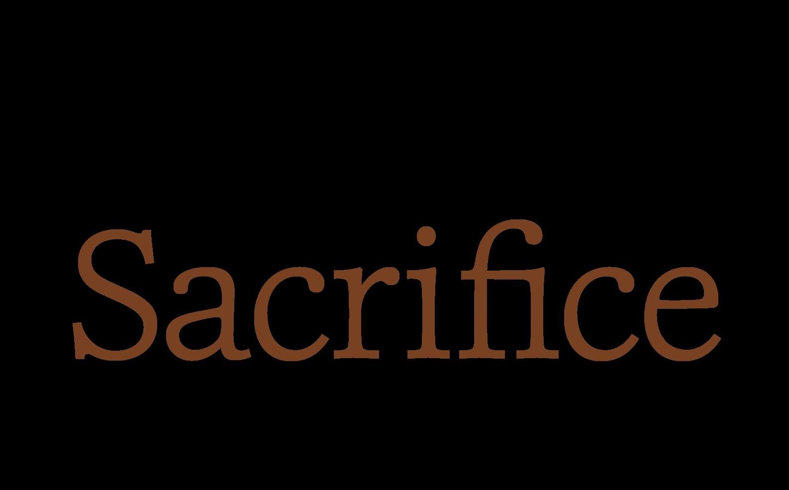 The Greatest Sacrifice Ever